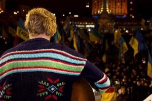 DVA на Майдані під час Революції.