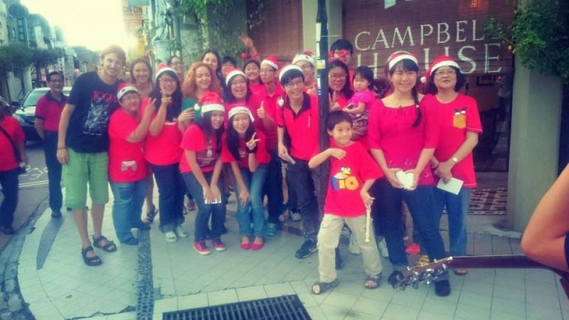 Святкування китайцями Різдва у Малайзії на острові Пенанг
